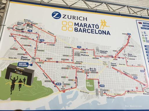 Barcelonan Marathon 2018