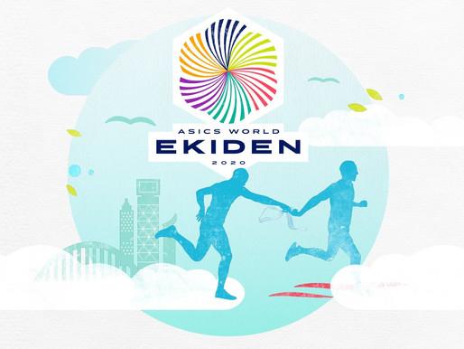 Asics World Ekiden 2020 - virtuaalinen maratonviesti