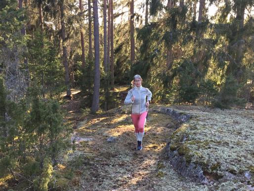 Toukokuun treenit - virtuaalijuoksuja ja hyötyliikuntaa