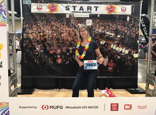 Honolulu Marathon 2018