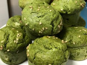 Muffin de Espinafre com Queijo