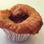 Muffin de Amêndoas e Ameixas Frescas