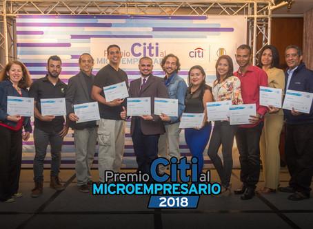 Premio Citi al Microempresario 2018