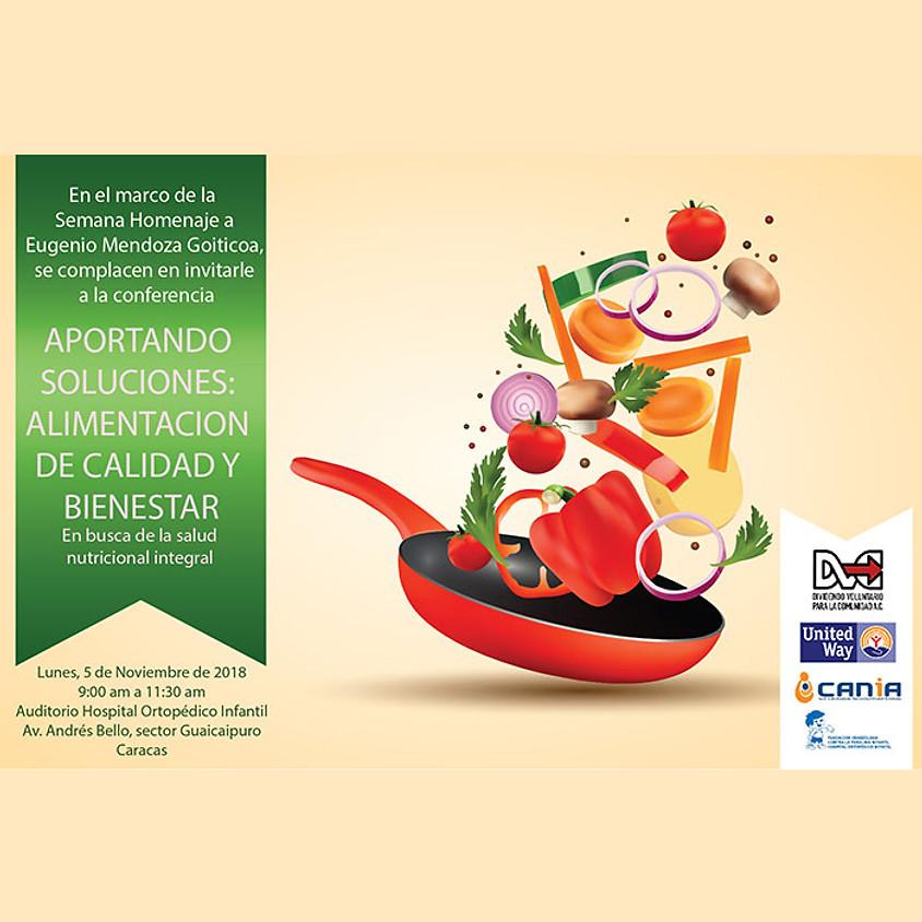 Aportando Soluciones: Alimentacion de Calidad y Bienestar