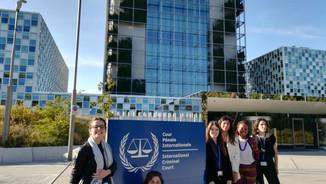 Les trois dernières promotions du Master représentées à la Cour pénale internationale !