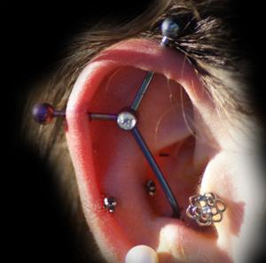 ear blackend