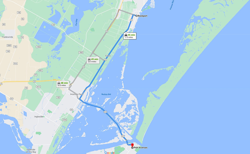 Rockport to Port Aransas Route Map.jpg