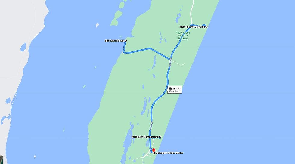 North Beach to Malaquite to Bird Island