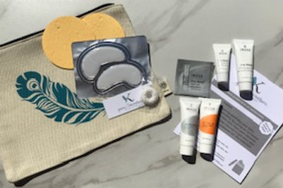 KMSkin @Home Facial Kit with Sheet Mask Add On