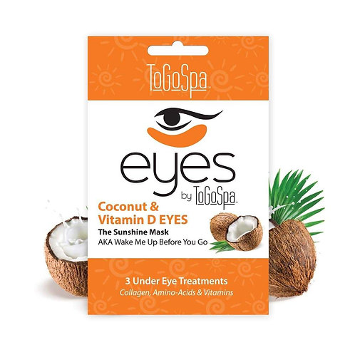 Coconut Eyes by ToGo Spa Pack of 3