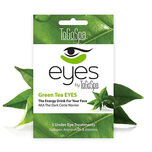 Green Tea Eyes by ToGo Spa Pack of 3