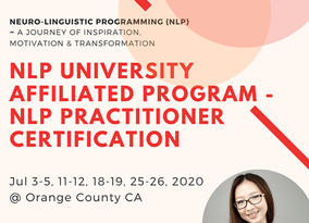 NLP University Affiliated Program -  NLP Practitioner Certification in Orange County California