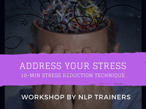 Address Your Stress (17 June)