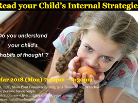 Read your Child's Internal Strategies