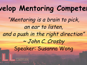 Develop Mentoring Competency @ ShenZhen ~ 4 May 2017