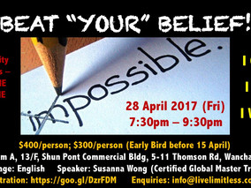 "Beat ""YOUR"" Belief (28 April)"