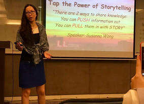 Tap the Power of Storytelling @ ShenZhen ~ 26 April 2017