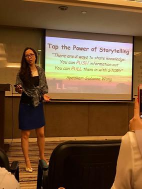 Tap the Power of Storytelling @ ShenZhen ~ 26 April 2017