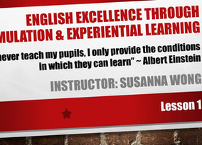 English Excellence through Stimulation and Experiential Learning @ CUHK
