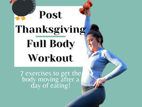 Post-Thanksgiving Full-Body Workout