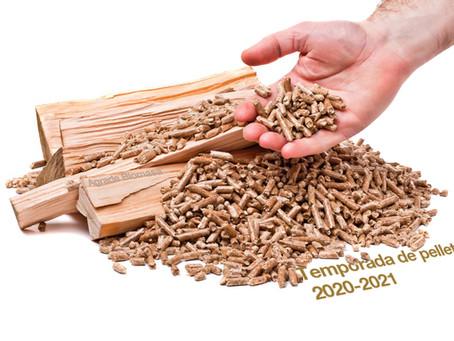 Precio pellets 2020 - 2021 (Barcelona)