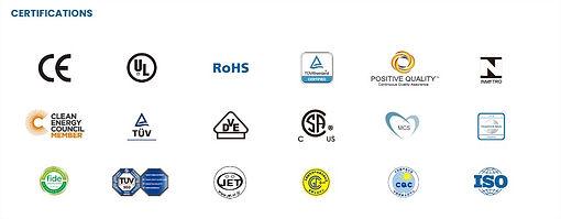 certificaciones panles solares fotovoltaicos