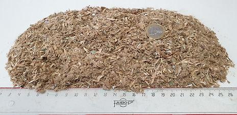 triturado de maderas recicladas