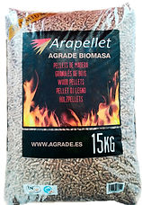 Saco de pellet de Arapellet