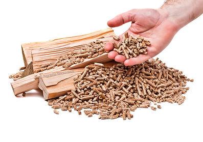 pellets de Agrade Biomasa