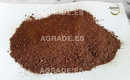 Harina e granilla de uva- Biomasa