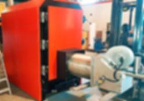 Caldera de biomasa industrial policombustible