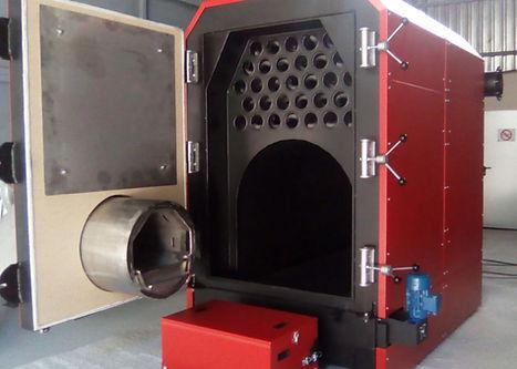 Caldera de biomasa industrial H2O Renovables