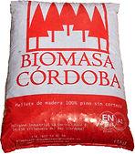 saco de pellet de Biomasa Córdoba