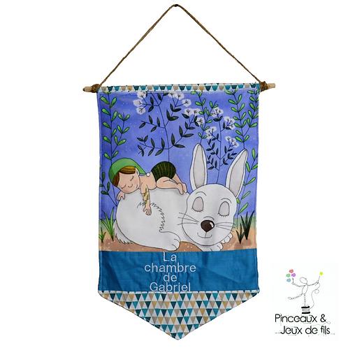 """Bannière décorative """"Petit lutin des bois"""""""