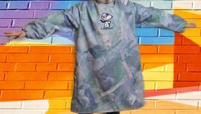 Tuto et Patrons gratuit Tablier à manches/ Tablier de peinture/ Surblouse enfants