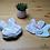 """Thumbnail: Lot de 10 lingettes/cotons lavables enfants """"lapins"""""""