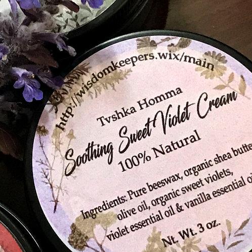 Soothing Sweet Violet Cream