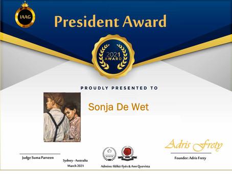 Grateful - I won an award!