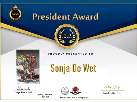 Always honoured to receive such high accolades!