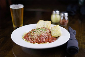Pete's Natomas Spaghetti Bolognese