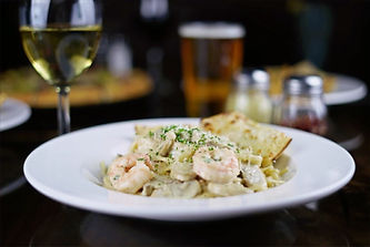 Pete's Natomas Linguine and Shrimp
