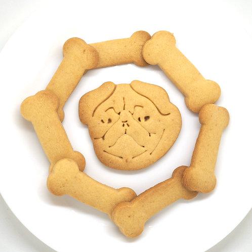 おまけ付 パグ クッキー型