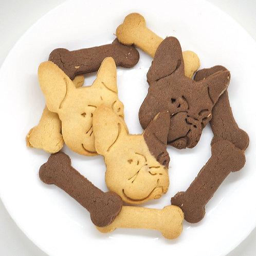 おまけ付き フレンチブルドッククッキー型