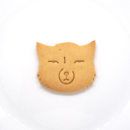 チベットスナギツネのスネオ クッキー型