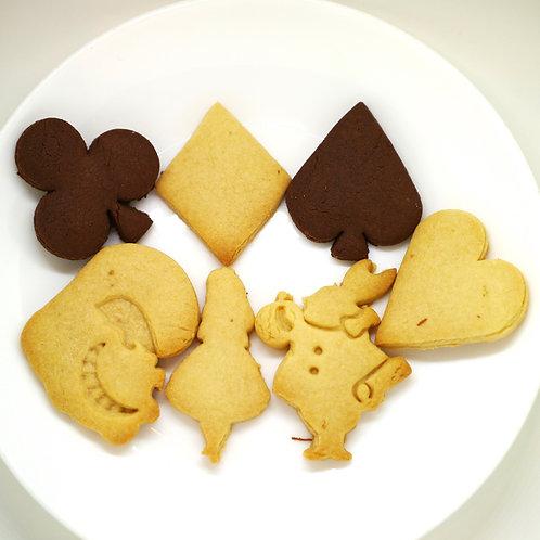不思議の国のアリス クッキー型 7点セット