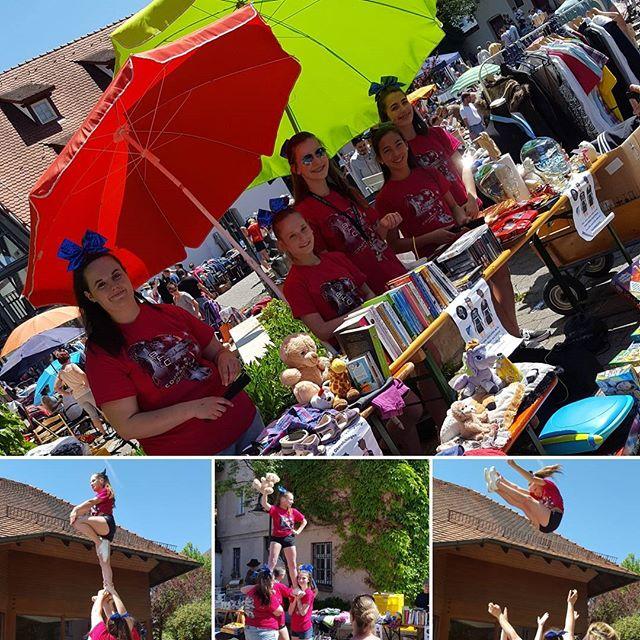 🎀Bei diesem tollen Wetter sind wir in Langenau auf dem Flohmarkt🎀_#Langenau#Flohmarkt#BFC#infinity