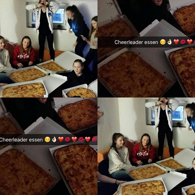 🎀🍕🍕🎀_4 PARTY-PIZZAS für 13 Mädels😂_Was ein Tag__#bfc#elchingen#befamous#cheerleading#Thunders#B