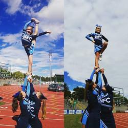 #Cheerleader#cheerleading#Auftritt#Sport#Fun#Stunt#Jugend-Läufe#Marathon#BFC#bfcthunders