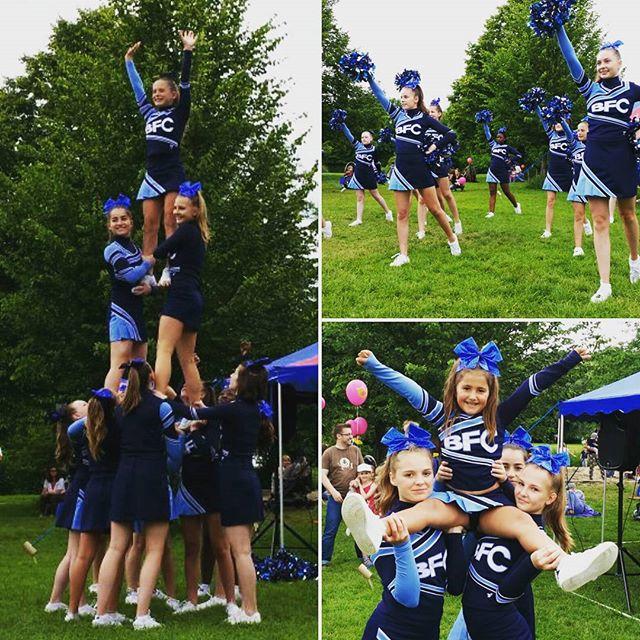 Die Be famous Cheer Company in Ulm beim Ulmer Zelt__#bfc#befamous#ulm#cheerleading#bfcthunders#cheer