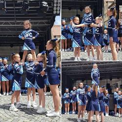Unsere kleinsten beim internationalen Fest in Ulm😊_🎀Be famous Cheer Company🎀_#juniors#peewees#Ulm